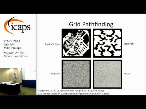 """ICAPS 2014: Mike Phillips on """"PA*SE: Parallel A* for Slow Expansions"""""""