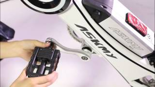 ASKMY X3 electric bicycle operation video