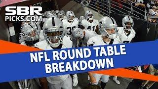 Free NFL Week 8 Picks   Roundtable Breakdown
