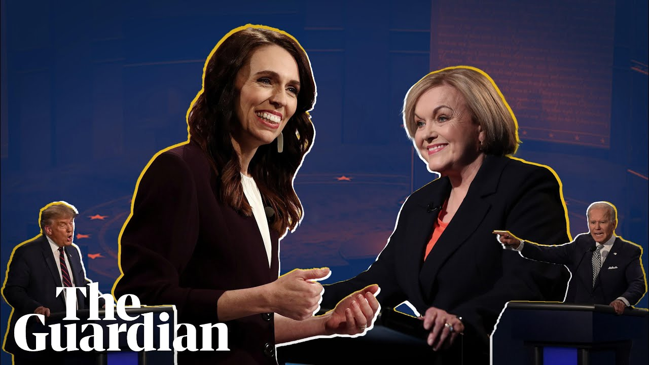 A contrast of styles: New Zealand v US leaders' election debate 54