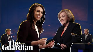New Zealand v US leaders' election debate: a contrast of styles