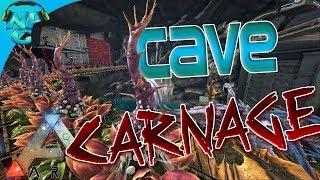 Ragnarok E41 Cave Raiding Carnage on Purge Day! ARK: Survival Evolved PVP