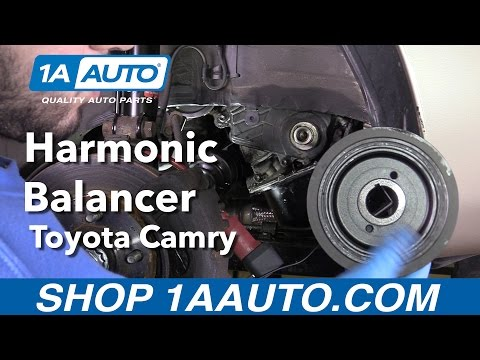 How to Replace Install the Harmonic Balancer 1992-01 Toyota Camry