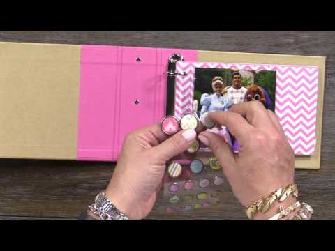 Using Photo Crops and Pocket Pages | Enchanted Mini Album | Simple Stories