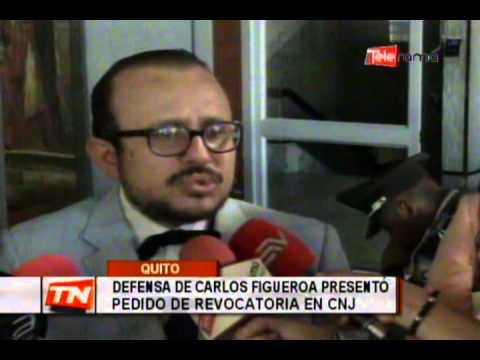 Defensa de Carlos Figueroa presentó pedido de revocatoria en CNJ
