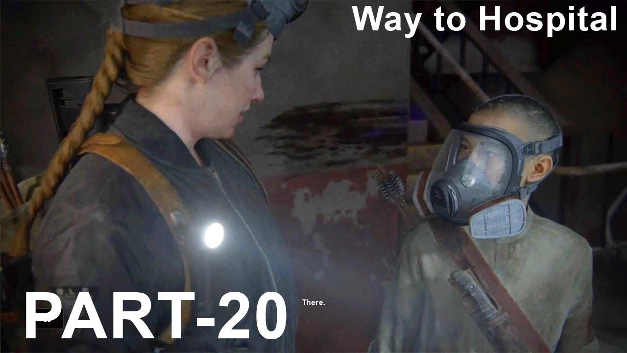 Download #TheLastOfUs2#Gameplay#Walkthrough The Last of Us™ Part II(PS4)/No commentary gameplay/waytohospital