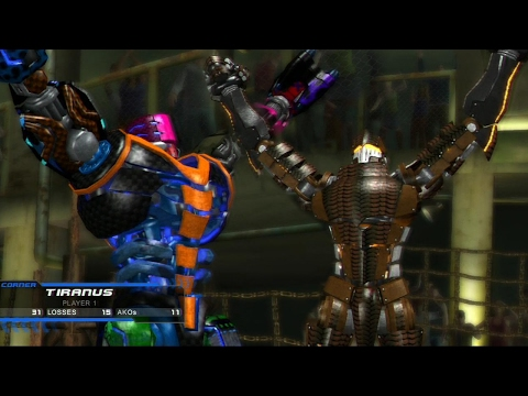Real Steel-FINAL BOSS(TIRANUS vs PALLADIUS)Живая сталь-Xbox 360 and PS3]