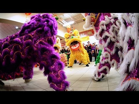 Jing Wo at T&T Supermarket Lion Dance Calgary 2014