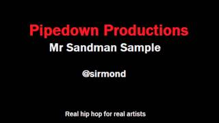 Mr Sandman sample- Free hip hop sample with hook