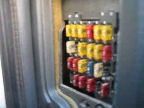 Fuse box location on a 1994-1997 GMC Sonoma - YouTube