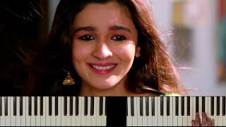Main Tenu Samjhawan (Humpty Sharma Ki Dulhania) - Piano