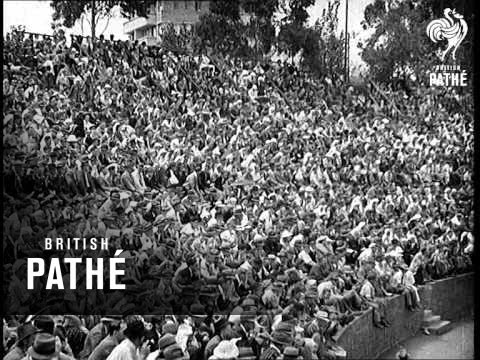 Third Test Match At Durban (1939)