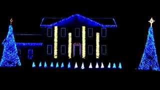 Dubstep Meghan Trainor Taylor Swift And More Remix - Delaney Christmas Light Show 2014