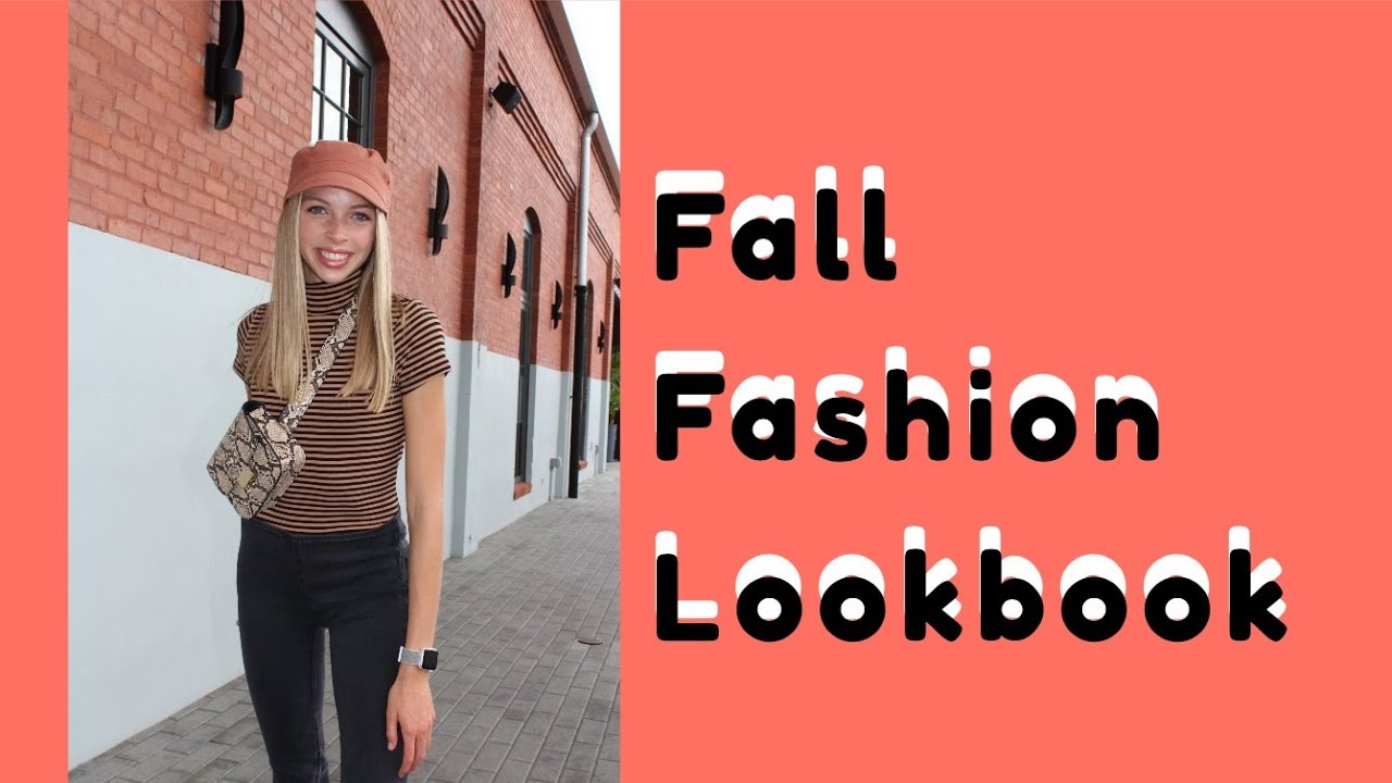 Fall Fashion Lookbook 2019// FreePeople, Target, Hollister, Lululemon, Forever21, Herschel, AEO, etc 1