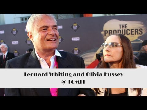 with Leonard Whiting and Olivia Hussey  TCMFF Red Carpet