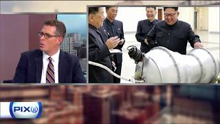 Paul Fritz on WPIX News Closeup (Escalating tensions between the US and North Korea)