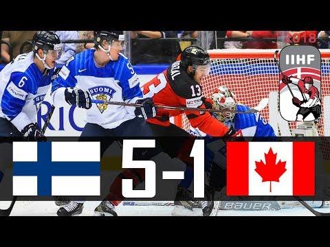 Canada vs Finland | 2018 IIHF Worlds Highlights | May. 12, 2018