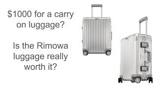 Is Rimowa Luggage Worth the Price tag?? | Topas Cabin MW 56 Suitcase