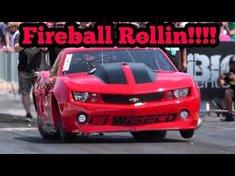 Fireball Camaro Rollin' at Armageddon No Prep