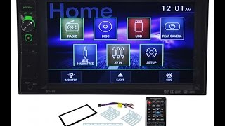 Dual DV605 Double Din DVD Stereo Receiver Review