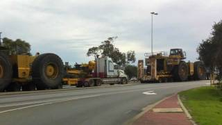 Heavy Machinery Transport Cat 793 in Fremantle, Perth
