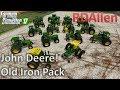 John Deere Old Iron Pack - Farming Simulator 17 Mod Review
