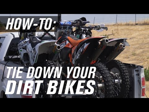 How To Tie Down A Dirt Bike