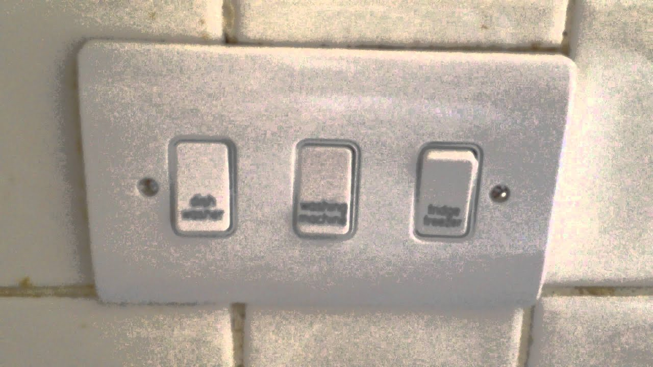 New Appliance Grid Switch Installed After Old One Was Falling Apart Volex Wiring Diagram Electric Repair Woodgreen Youtube