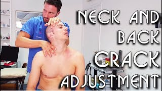 Download 💆 Osteopathic Adjustment: Neck Back Legs Feet Arms and Mouth Cracking - ASMR video Mp3 and Videos