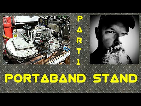 DIY 3 Way Portadand Saw Stand Vertical and Horizontal and Handheld ~ Part 1