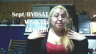September/RYBSAT Wrap Up + October TBR