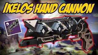 The ALMOST PERFECT Hand Cannon | Ikelos Hand Cannon Gameplay Review | Destiny 2