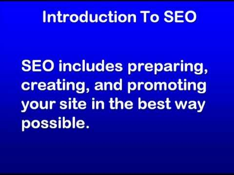 SEO Education 101 - Search Engine Optimization Course