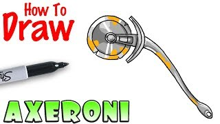 How to Draw the Axeroni | Fortnite