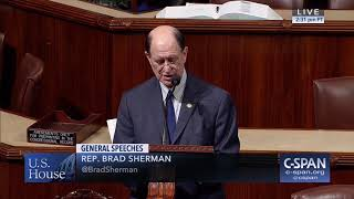 Congressman Sherman Delivers Remarks on Human Rights in Pakistan and Sindh