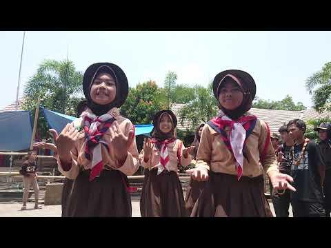 Yel yel Kamboja black pink basis SDN 121 CARINGIN HOLIS BANDUNG