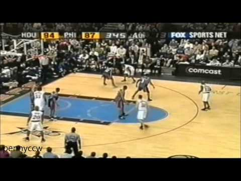Allen Iverson 58pts FULL Highlights vs Rockets 01/02 NBA *2nd Career-High points