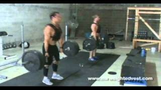 Rich Froning Jr.  - 2011 & 2012 & 2013 Crossfit Champion using MiR Weighted Vest