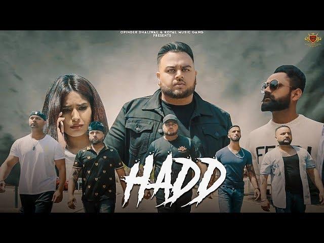 HADD - Deep Jandu (Official Video) Amrit Maan   Navpreet Banga