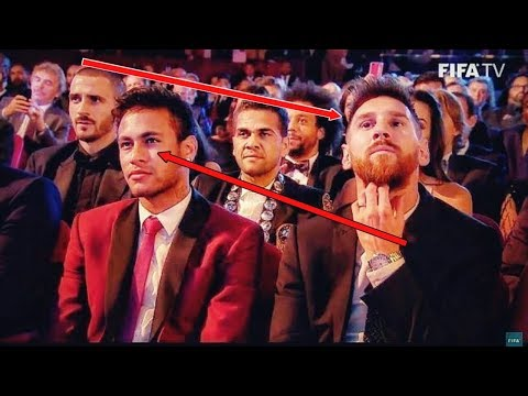 Messi Reaction After Ronaldo Win FIFA Best Player 2017 #Funny