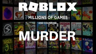 The murder didn't see me! (ROBLOX-Murder #01) Xbox One Gameplay