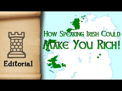 How the Irish Language Could Make You Rich!*
