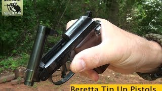 Beretta Tip Up Barrel Pistols : Mouse Guns