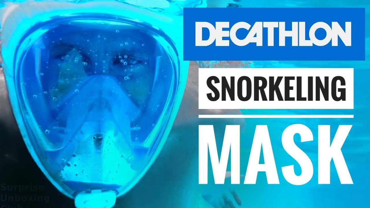 f8cb99042 Decathlon World s Best Snorkelling Mask Easybreath new gadget - YouTube