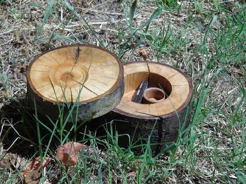 Rustic Jewelry Box Wood Made
