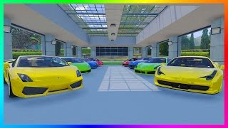 NEW GTA ONLINE GARAGES NEED TO LOOK LIKE THIS & WHY PROPERTY LIMIT NEEDS TO BE REMOVED! (GTA 5)