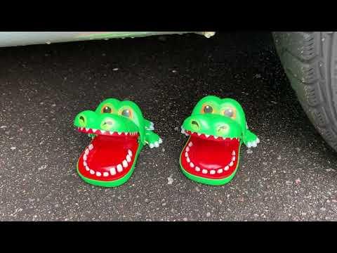 Crushing Crunchy \u0026 Soft Things By Car! - EXPERIMENT- CAR VS CHICKEN