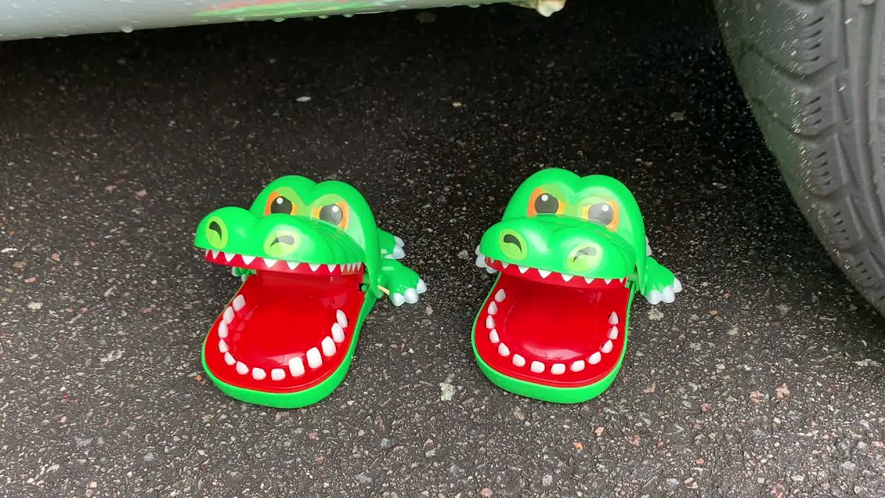 Download EXPERIMENT: CAR VS CROCODILE (Toy) and More Crunchy Stuff!