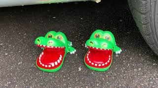 Crushing Crunchy \u0026 Soft Things by Car! - EXPERIMENT- CAR VS CHICKEN