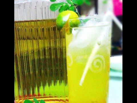 How to make your own Fresh Moringa Juice (Malunggay Juice)